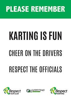 Remember, karting is fun