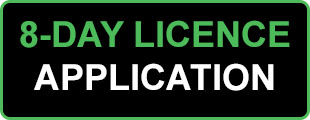 8 Day Licence Application