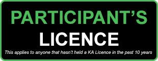 Participants Licence