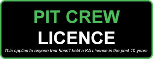 Pit Crew Licence