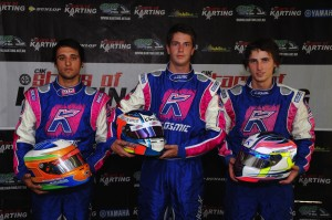 JAM Racing will once again have three entries in the Pro Light (KF1) category. Pic: AF Images/Budd