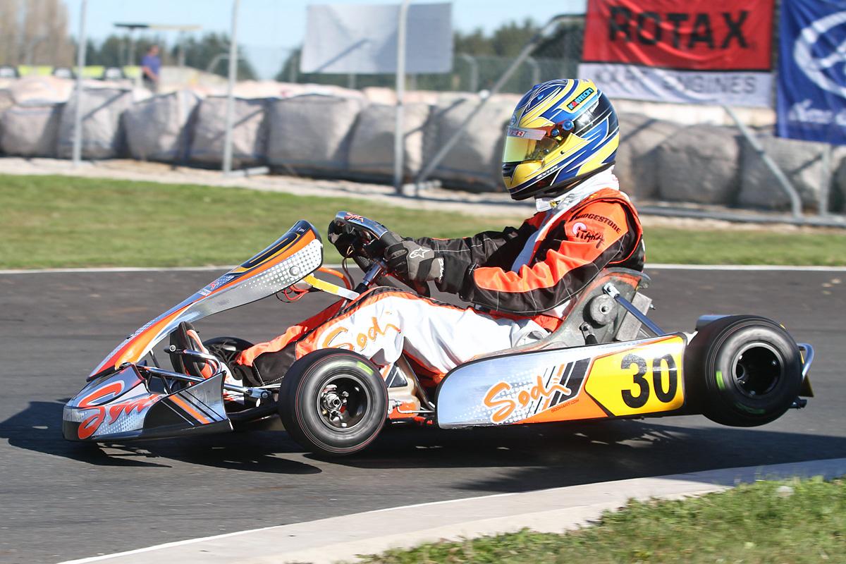 Karting Australia Second Kinsman Comes Through In Hamilton