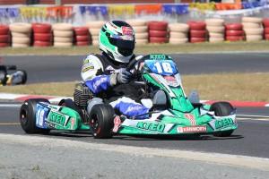 Nicholas Rowe karting