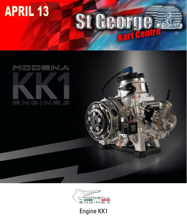 Modena KK1 Engines are coming to Australia - From St George Kart Centre