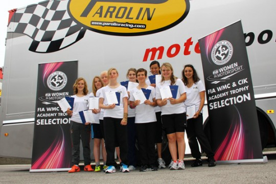 INTERNATIONAL OPPORTUNITY FOR FEMALE KART RACERS