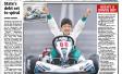 Hugh&#8217;s a driven boy &#8211; <i>From the Herald Sun</i>
