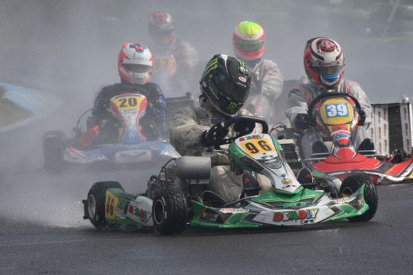 Three from three for Deadly Dave in KZ2