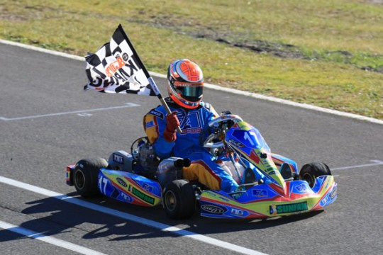 STARS OF KARTING CHAMPIONSHIPS ALL DOWN TO THE WIRE (inc. video)