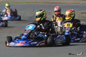 Scott Sorensen set the pace in the KF2 class