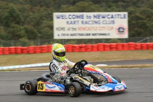 Matt Wall was 3rd overall in KZ2 today