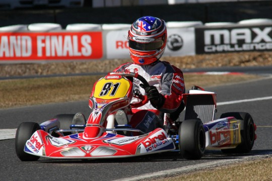 QUEENSLAND'S BEST IN THE BOX SEAT AT HOME ROTAX NATIONALS