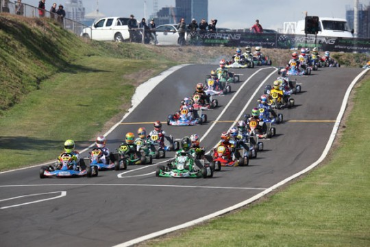 STARS OF KARTING SET FOR A GRAND FINISH IN MELBOURNE