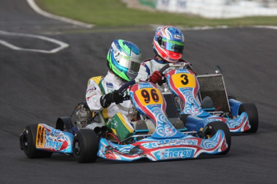 ENERGY CROWNED KARTING AUSTRALIA MANUFACTURERS CHAMPIONS