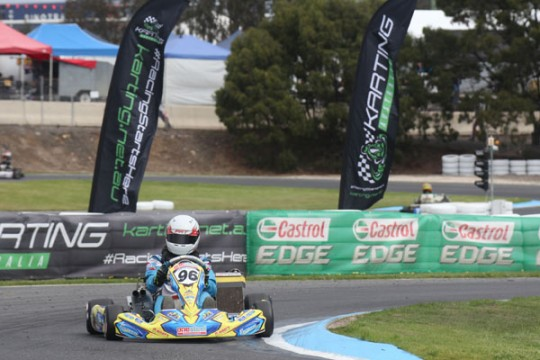 QUALIFYING DAY IS UNDERWAY AT STARS OF KARTING FINALE