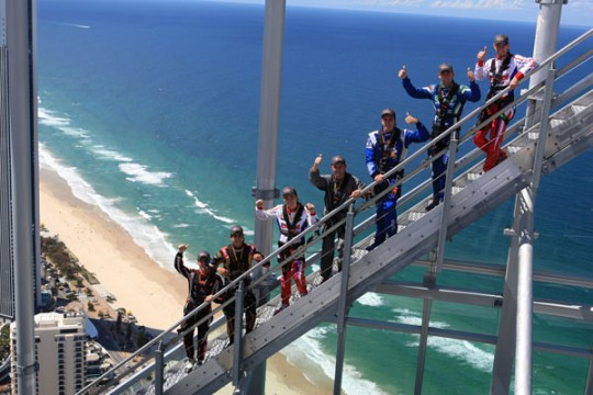 WORLD CHAMPIONS REACH NEW HEIGHTS ON THE GOLD COAST