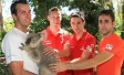 RACE OF STARS INTERNATIONALS VISIT AUSTRALIAN WILDLIFE SANCTUARY