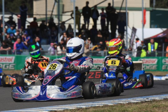 KF ENGINES FOR 2015 AND 2016 AUSTRALIAN KART CHAMPIONSHIP