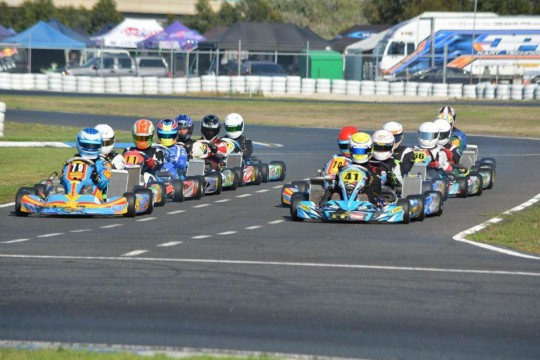 VICTORIAN KART CHAMPIONSHIP STANDINGS AFTER ROUND ONE