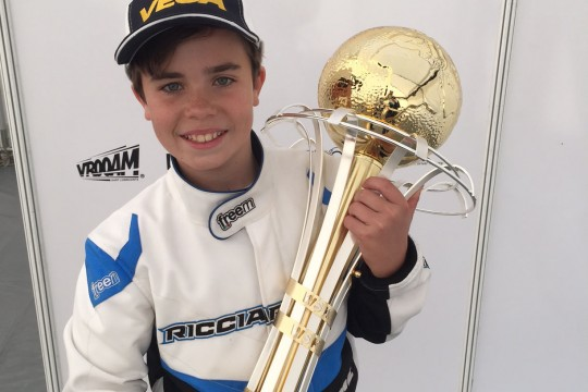 AUSTRALIAN LOCHIE HUGHES SECOND IN WSK GOLD CUP