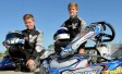 Good friends not afraid to mix it up at speed on the track &#8211; <i>From the Daily Mercury</i>
