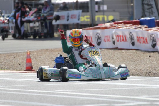 PERFECT ROTAX EURO CHALLENGE START FOR PIERCE LEHANE