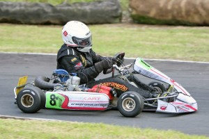 Steve Brown is one of several drivers from the KZ2 Masters class set to line up on the grid at the Race of Stars