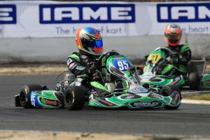 Championship leader Jake Klarich in action during today's practice (Pic: Coopers Photography)