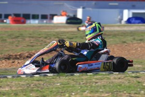 Jason Hryniuk finished ninth in the DD2 Masters class at the Rotax MAX Challenge Grand Finals (Pic: Coopers Photography)