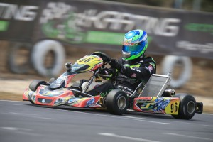 Holden Kart Team driver Liam McLellan was victorious in KF2 (Pic: Coopers Photography)