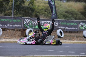 Jason Pringle is aiming to defend his KZ2 Australian Championship in 2016 (Pic: Coopers Photography)