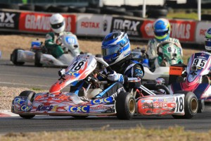 Cody Brewczynski is one of the favourites in Junior Max with a large array of new drivers joining the field (Pic: Coopers Photography)