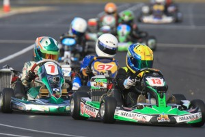 James Wharton (#13) and Bayley Douglas (#37) are two drivers returning to the Mini Max class in 2016 (Pic: Coopers Photography)