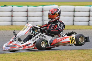 Shay Mayes managed victory in Rotax Heavy on his return to the class (Photo by Coopers Photography)