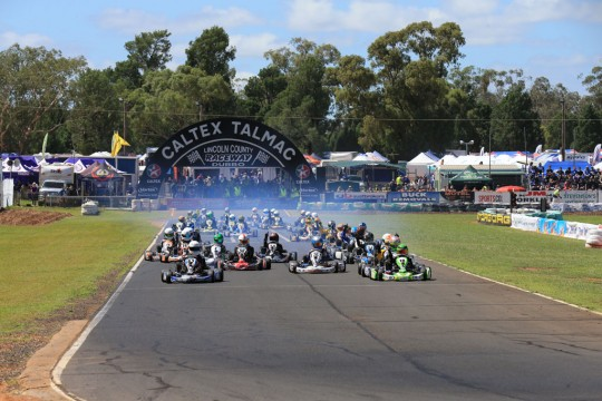 ON DEMAND VIDEO FROM THE AUSTRALIAN KART CHAMPIONSHIP