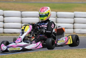 Jason Pringle bagged some good Rotax Rankings points with a 2nd in DD2 (Image: Coopers Photography)
