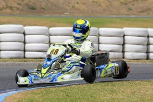 Kris Walton made the perfect debut in DD2 Masters, taking the round win (Image: Coopers Photography)