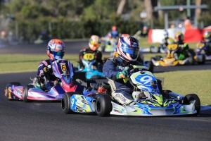Troy Woolston has taken a clean sweep with just the final remaining in DD2 at Warwick (Pic: Coopers Photography)
