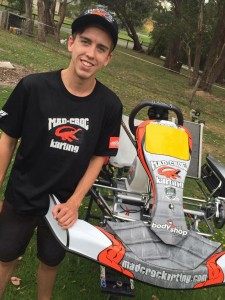 Matty Smith will line up in a Mad Croc Kart at Puckapunyal