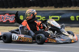 Brodie Whitmore stepped it up in the Final to take his first Rotax Pro Tour win (Pic: Coopers Photography)