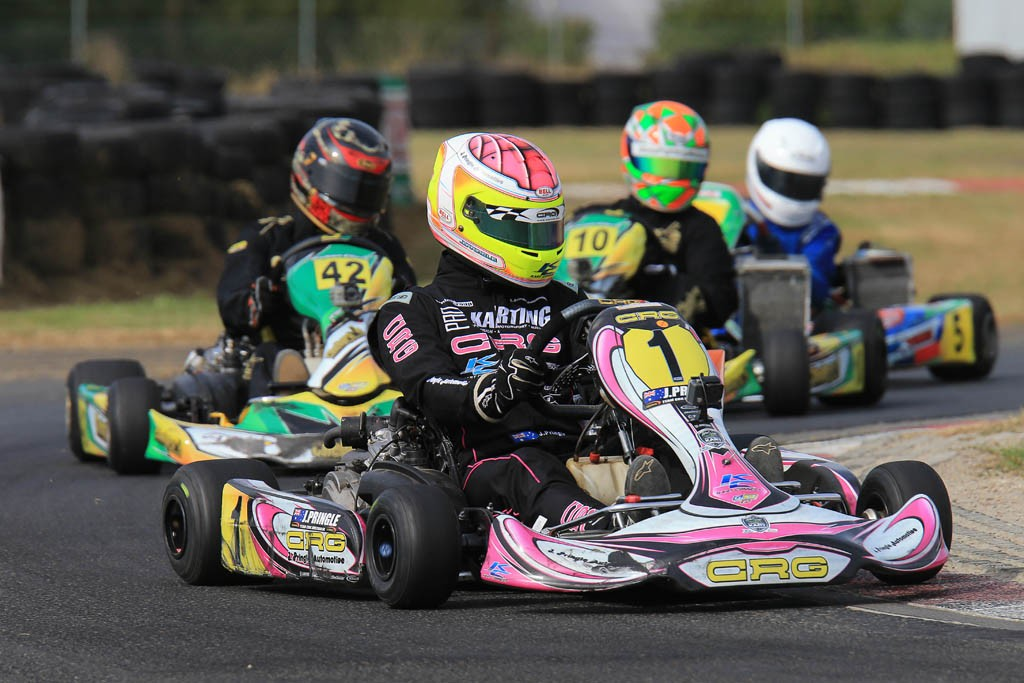 CRG driver Jason Pringle in action (Pic: Coopers Photography)