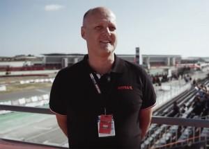 Helmut Voglsam from BRP-Powertrain's Rotax Karting division