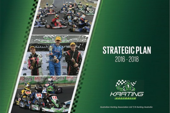 KARTING AUSTRALIA RELEASES STRATEGIC PLAN