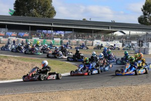 More than 220 entries have been received for Round Four of the Australian Kart Championship in Ipswich (Pic: Coopers Photography)