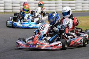 Cody Brewczysnki comes into this weekend on the back of recent success in New Zealand in Junior Max (Pic: Coopers Photography)