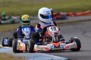 KA4 Junior Light driver Zach Crichton