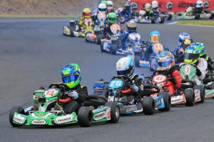 James Wharton and Kai Allen are two key challengers within the competitive Mini Max class (Pic: Coopers Photography)