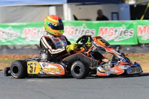 CRG Australia's Lane Moore finished third fastest in the TaG 125 class (Pic: Coopers Photography)