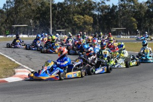 Brendan Nelson leading the X30 field in Ipswich (Pic: Coopers Photography)