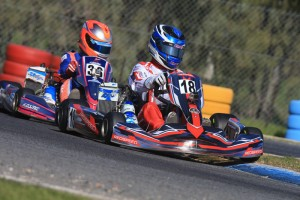 Cameron Longmore and Cody Brewczynski were the pacesetters across the day in Junior Max. (PIc: Coopers Photography)