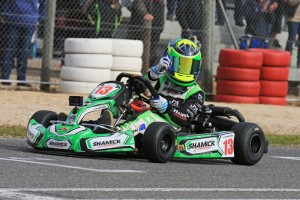 James Wharton made it two wins from two starts on finals day in Mini Max (Pic: Coopers Photography)